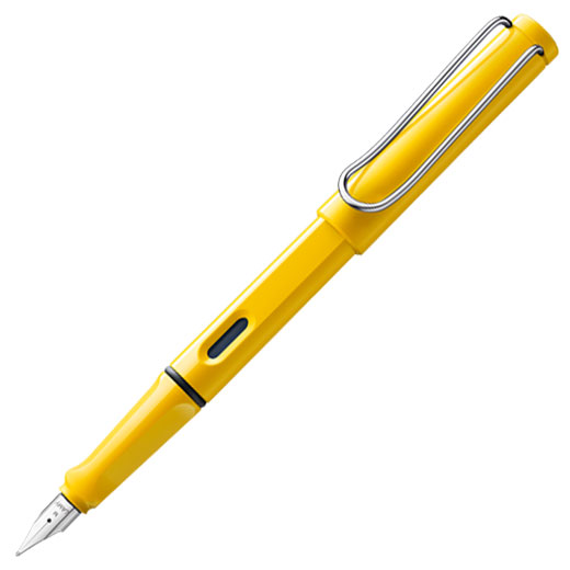 Safari Yellow Fountain Pen