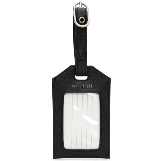 Black Vintage Collection TROTTER Luggage Tag