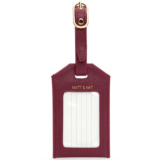 Garnet Vintage Collection TROTTER Luggage Tag