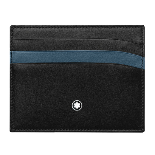 Meisterstück Black and Blue 6CC Card Holder