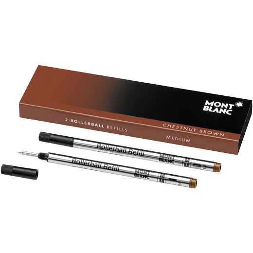 Chestnut Brown Rollerball Refills (M)
