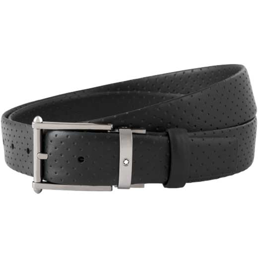Contemporary Line Black Business Belt