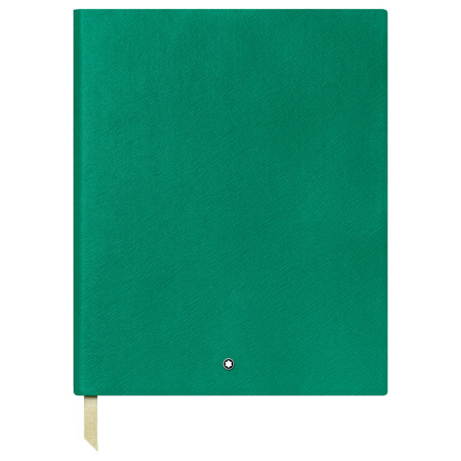 Fine Stationery Lined Emerald Green Large Notebook #149