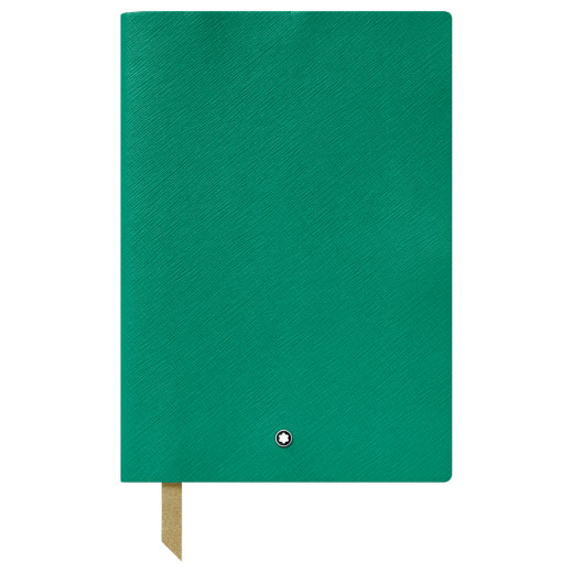 Fine Stationery Lined Emerald Green A5 Notebook #146