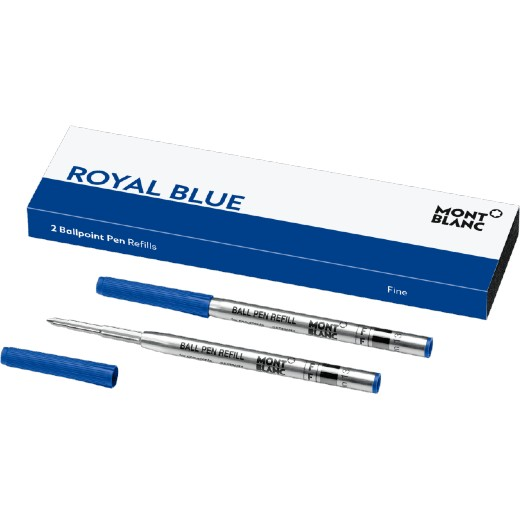 Royal Blue Ballpoint Refills (F)