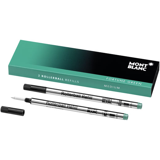 Fortune Green Medium Rollerball Refills