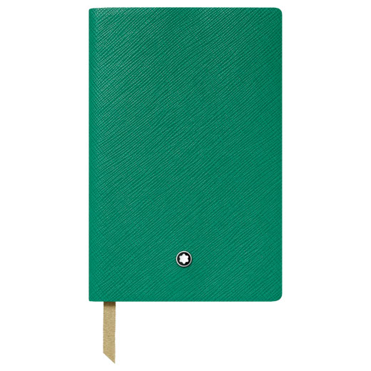 Fine Stationery Lined Emerald Green A7 Notebook #148
