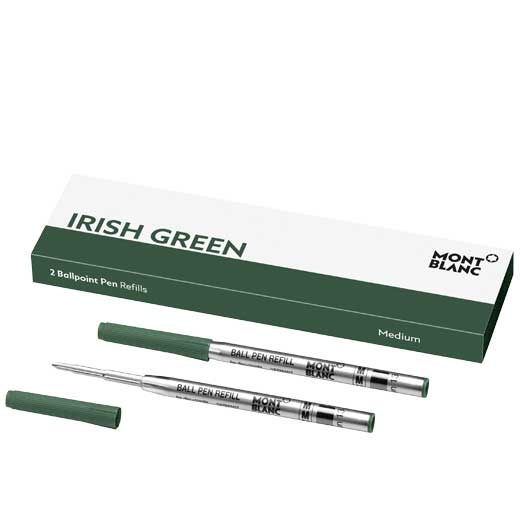 Irish Green Ballpoint Refills (M)