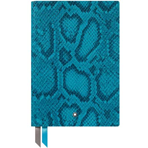Montblanc Green Mock Python Print Fine Stationery #146 Lined