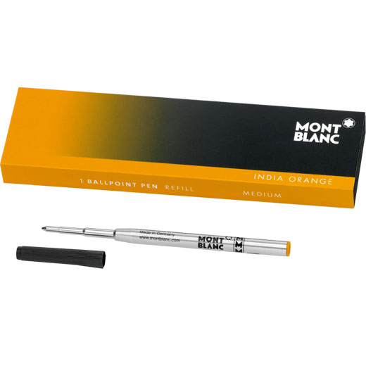India Orange Medium Ballpoint Refill