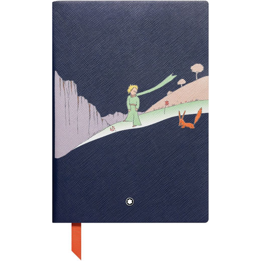 Meisterstück Fine Stationery Le Petit Prince Lined Blue A5 Notebook #146