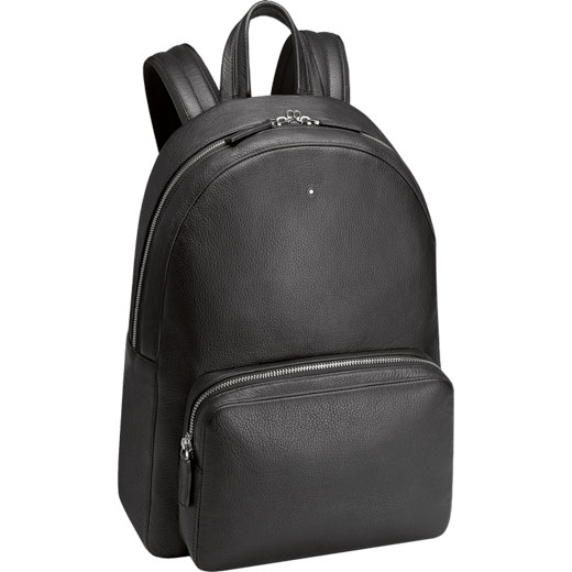 2f437119ea Montblanc Sartorial Indigo Leather Small Backpack