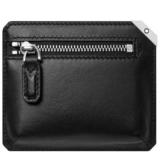Black Meisterstück Urban 3CC Pocket with Back Zip