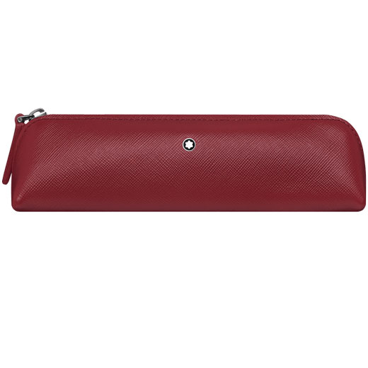 Sartorial Red 2 Pen Pouch Zip Top