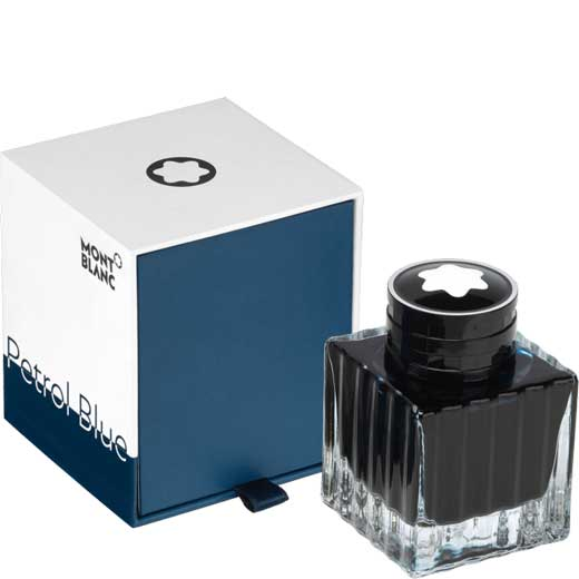 Petrol Blue Ink Bottle