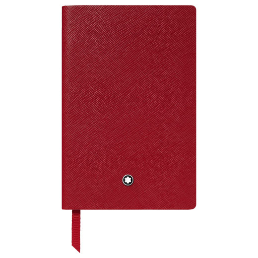 Red #148 Fine Stationery Lined Notebook