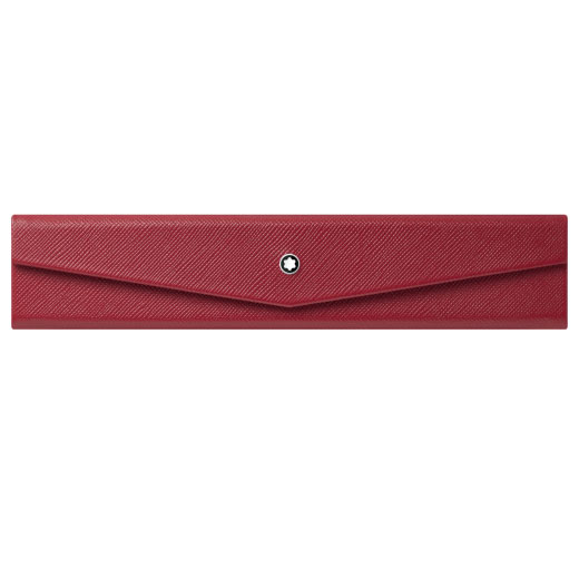 Sartorial Red Single Foldable Pen Pouch