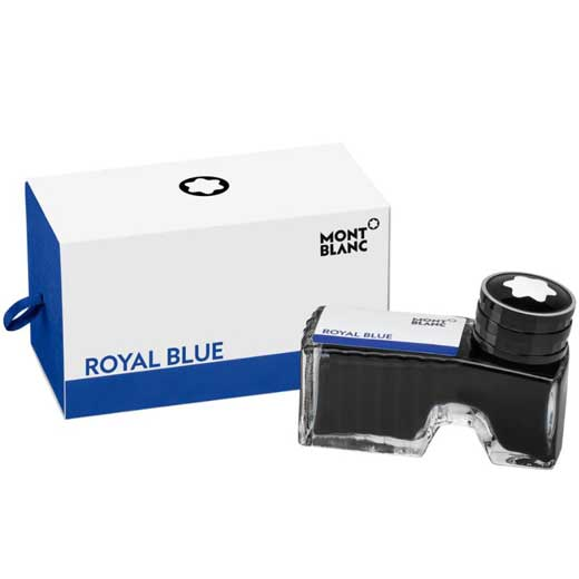 Royal Blue Ink Bottle