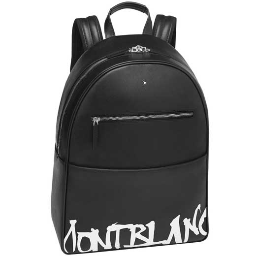 Sartorial Calligraphy Black Dome Backpack