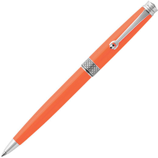 Piacere Ballpoint in Neon Carrot