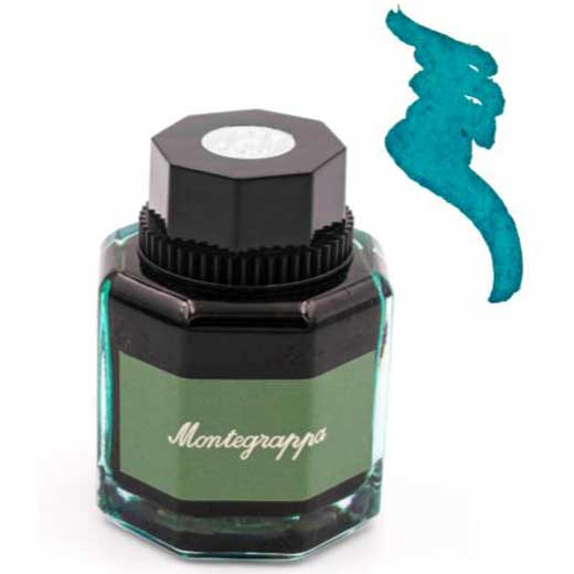 50ml Turquoise Ink bottle
