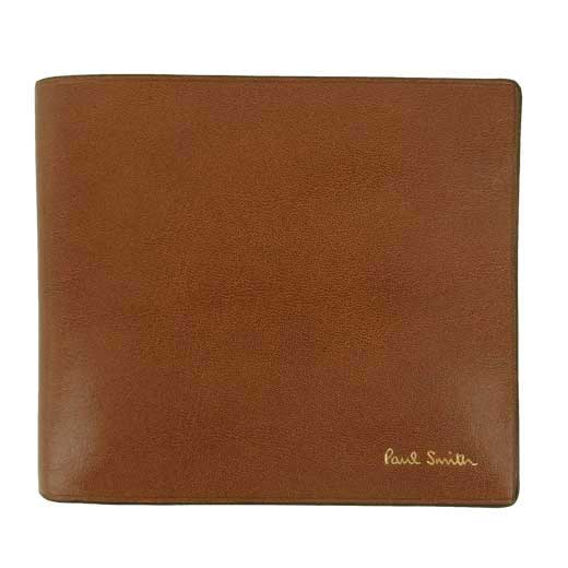 Tan Leather 4CC Wallet with Coin Case