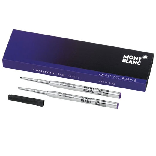 Amethyst Purple Medium Ballpoint Refill