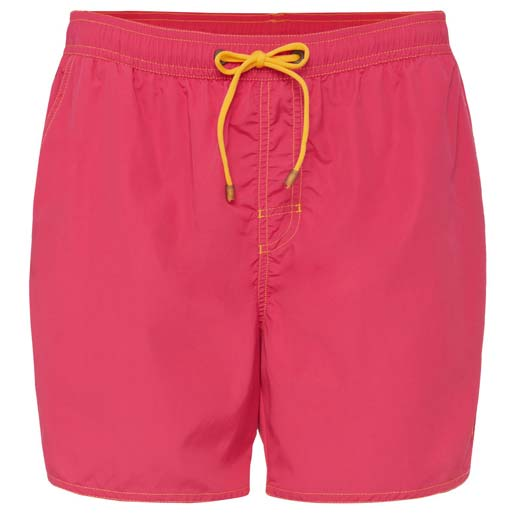 1fef89e8184d4 Hugo Boss Pink Lobster Swim Shorts with Contrast Stitching | Wheelers  Luxury Gifts