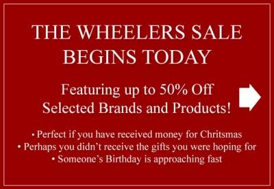 Wheelers Sale Begins Today