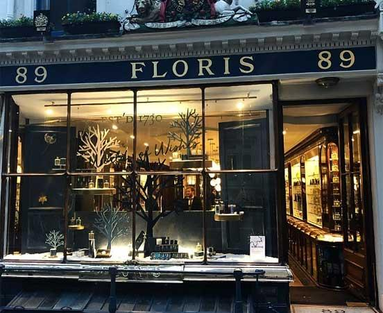 Floris London at Wheelers Luxury Gifts