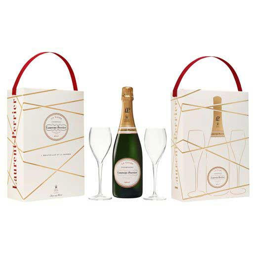 Laurent-perrier champagne gift set