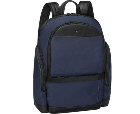 Montblanc navy Nightflight backpack