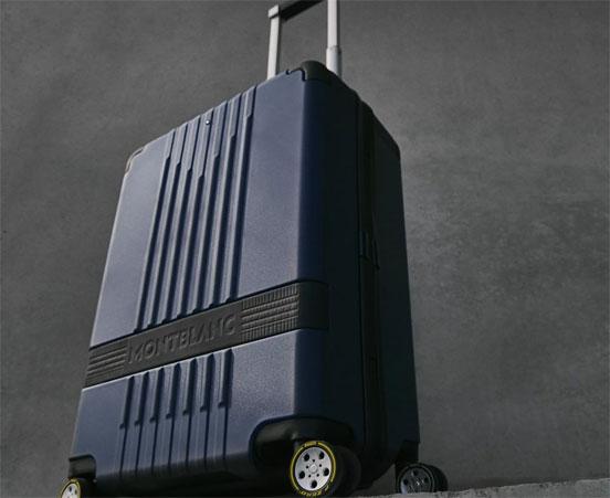 Montblanc x Pirelli cabin trolley