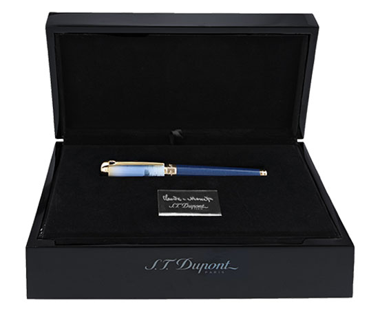 S.T. Dupont Paris packaging