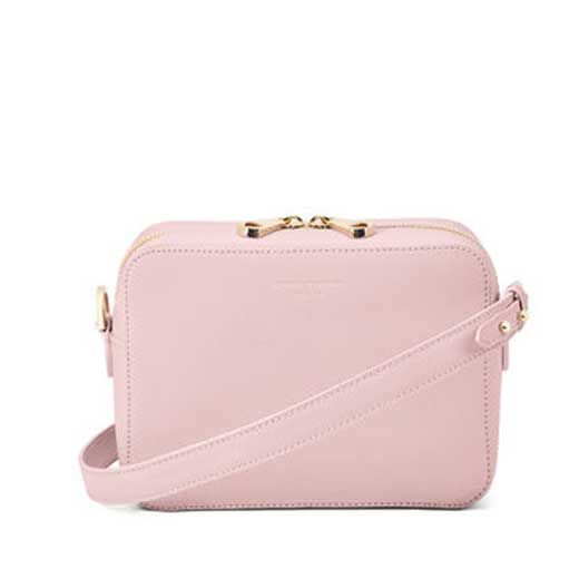 Aspinal of London pink camera bag