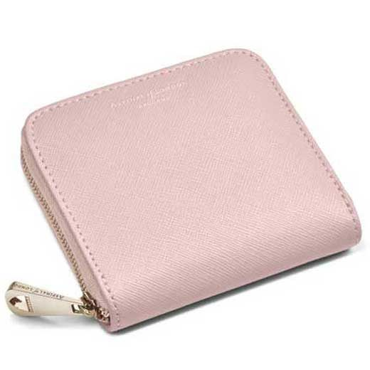 Aspinal of london pink continental purse