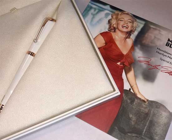 Montblanc Muses Marilyn Monroe