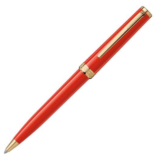 Montblanc red PIX ballpoint pen