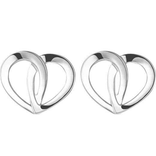 Montblanc heart earrings
