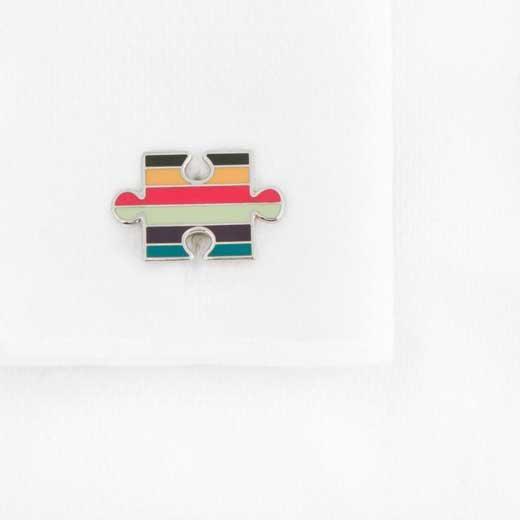 Paul Smith puzzle piece cufflinks
