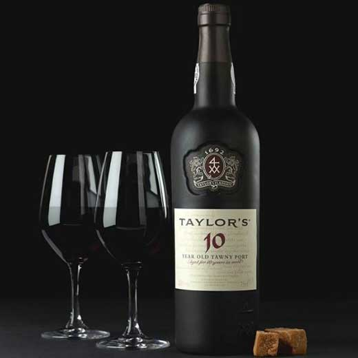 Taylors tawny with glasses